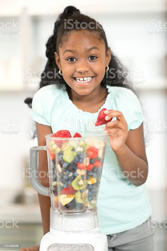 Young African American Girl royalty-free stock photo