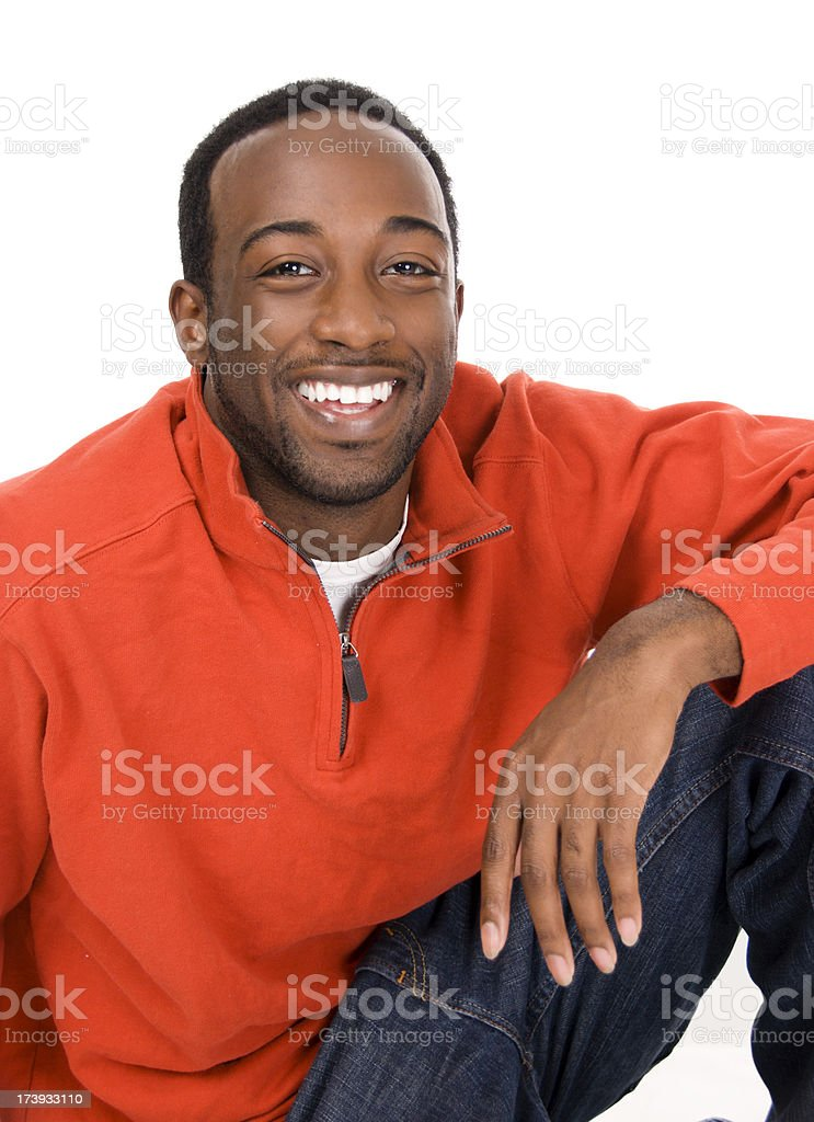 Young African American Male royalty-free stock photo