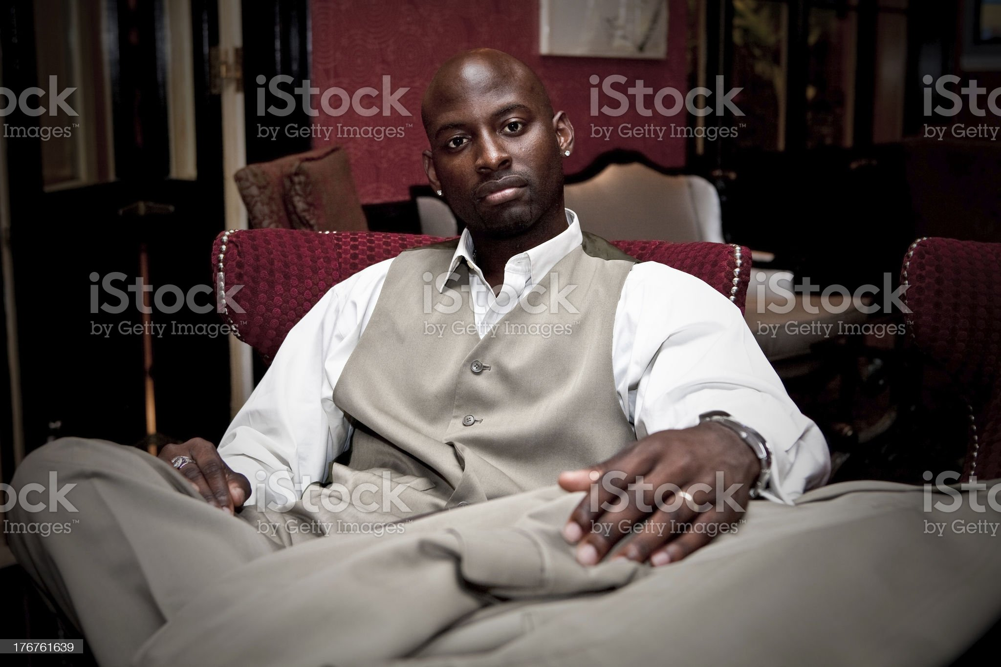 Young African American Man royalty-free stock photo