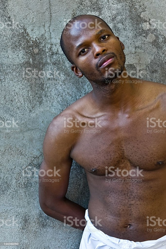 Young African American royalty-free stock photo