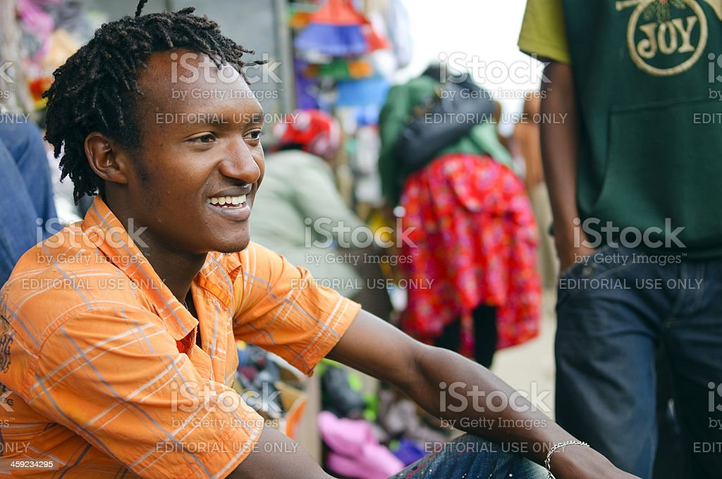 Young African man royalty-free stock photo