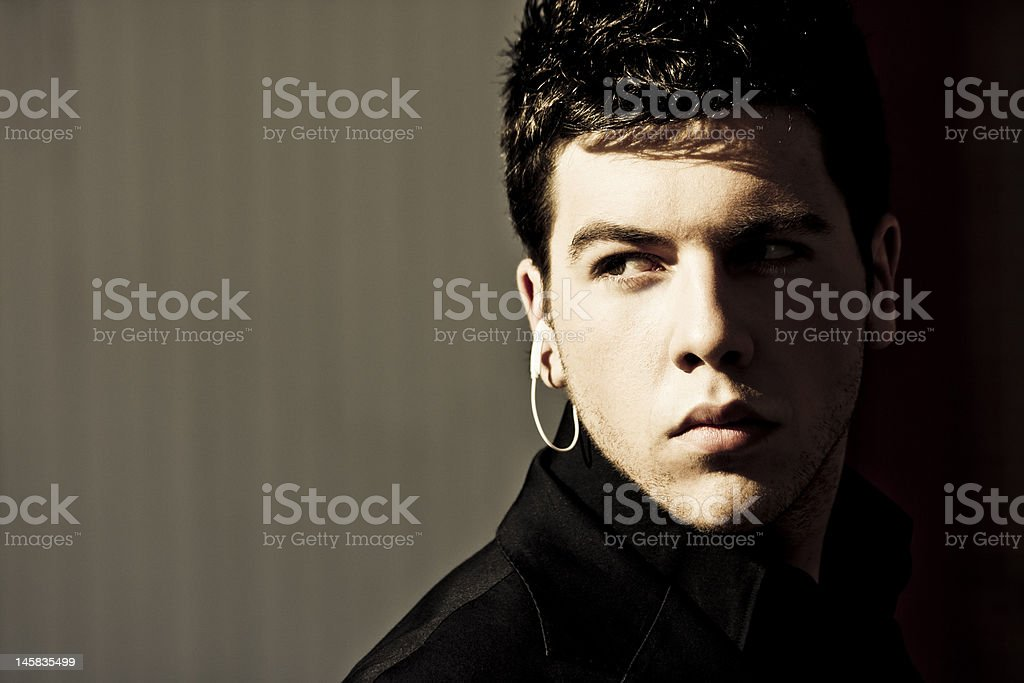 Young agent royalty-free stock photo