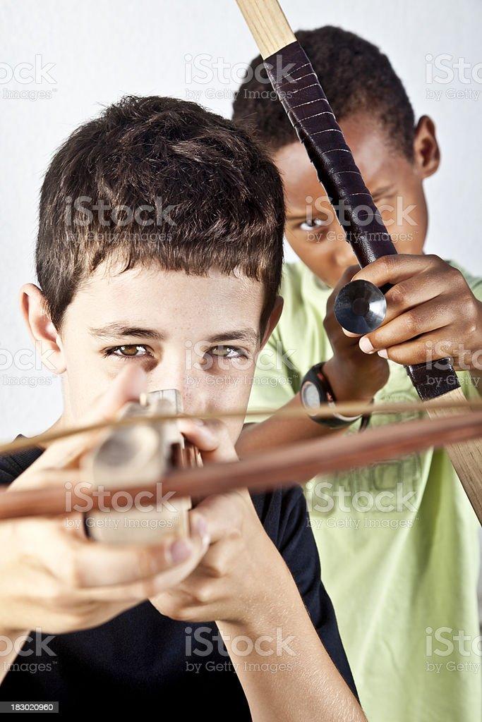 Young ambush royalty-free stock photo