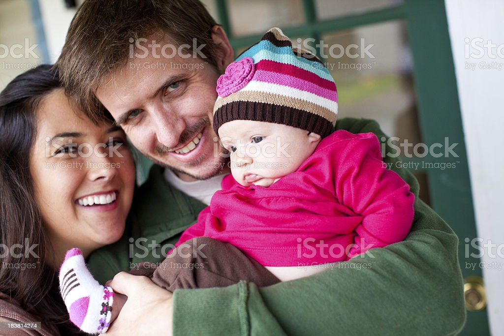 young american family royalty-free stock photo