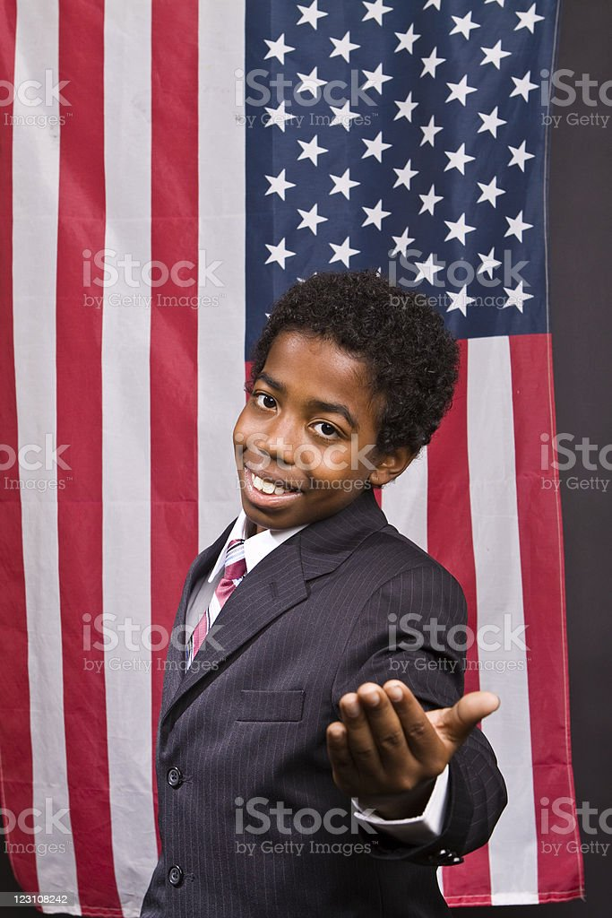 Young American royalty-free stock photo
