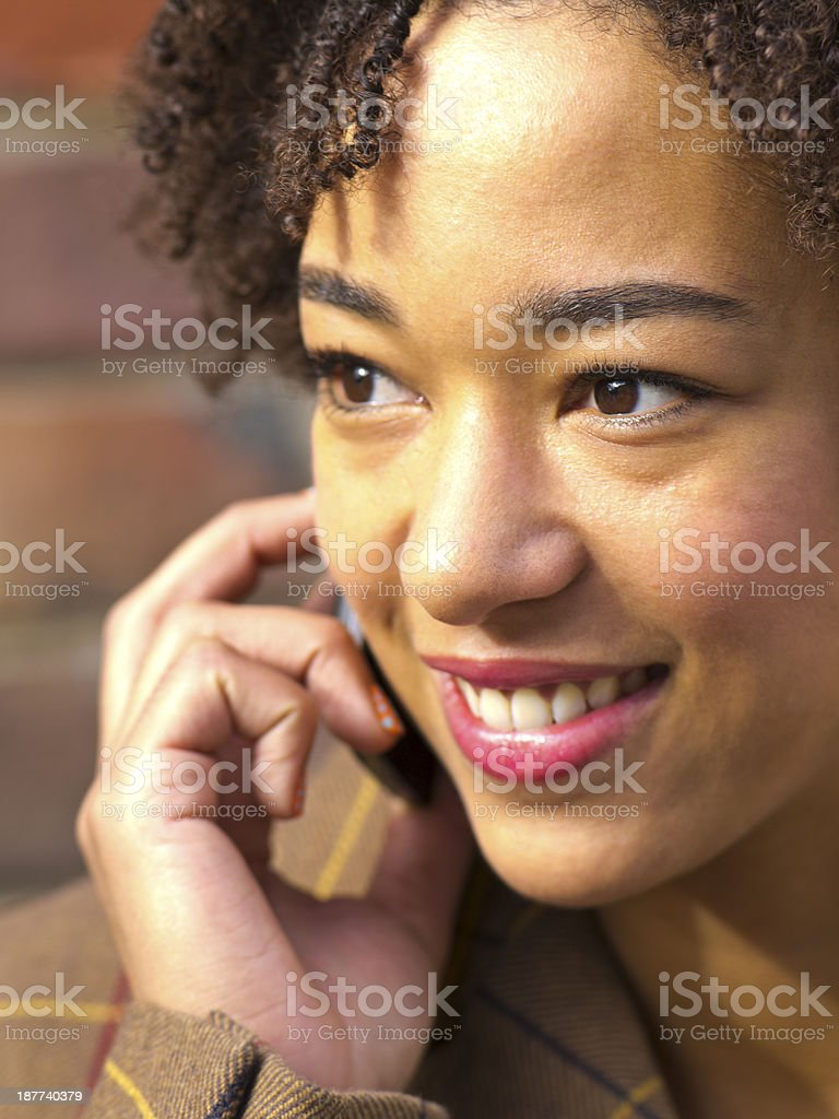 young and beautiful royalty-free stock photo