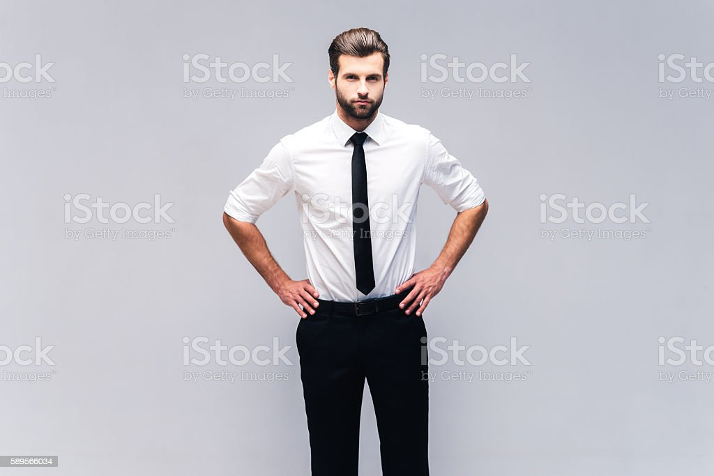 Young and confident. stock photo