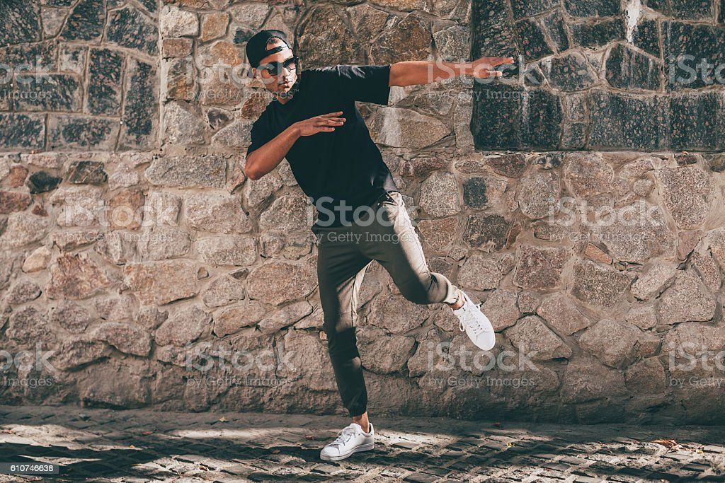 Young and cool. stock photo