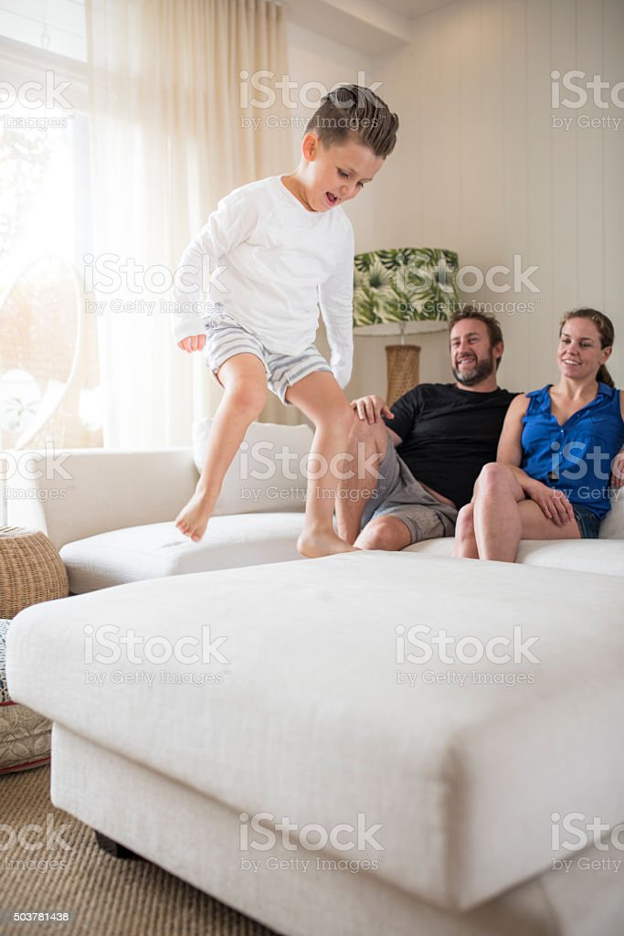 Young and crazy stock photo