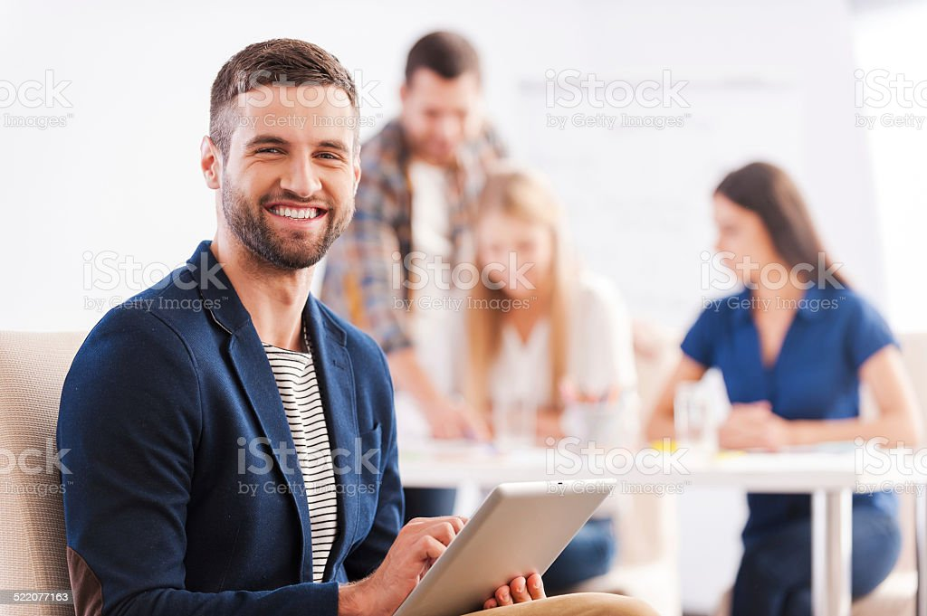 Young and creative. stock photo