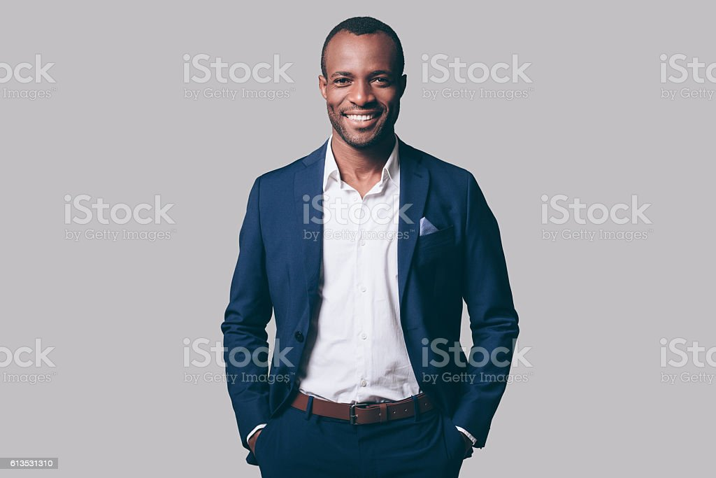 Young and handsome. stock photo