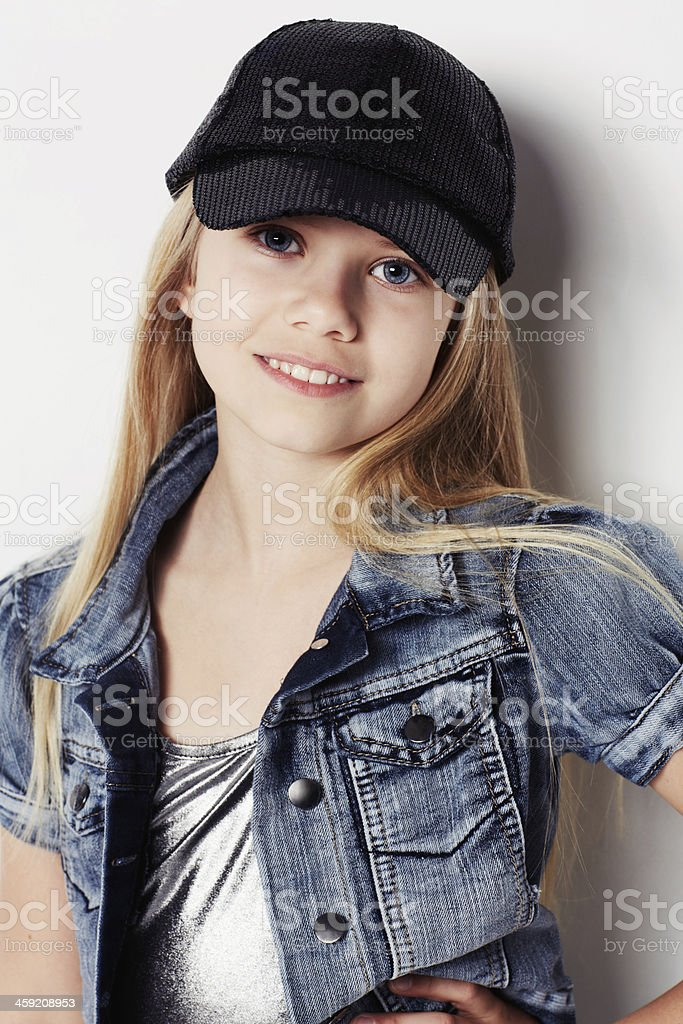 Young and hip royalty-free stock photo