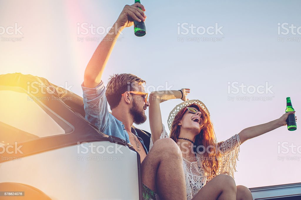 Young and wild stock photo