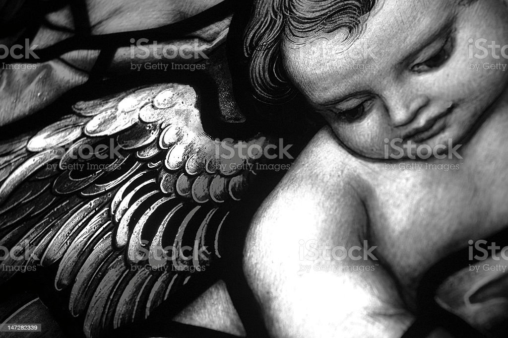 Young Angel royalty-free stock photo
