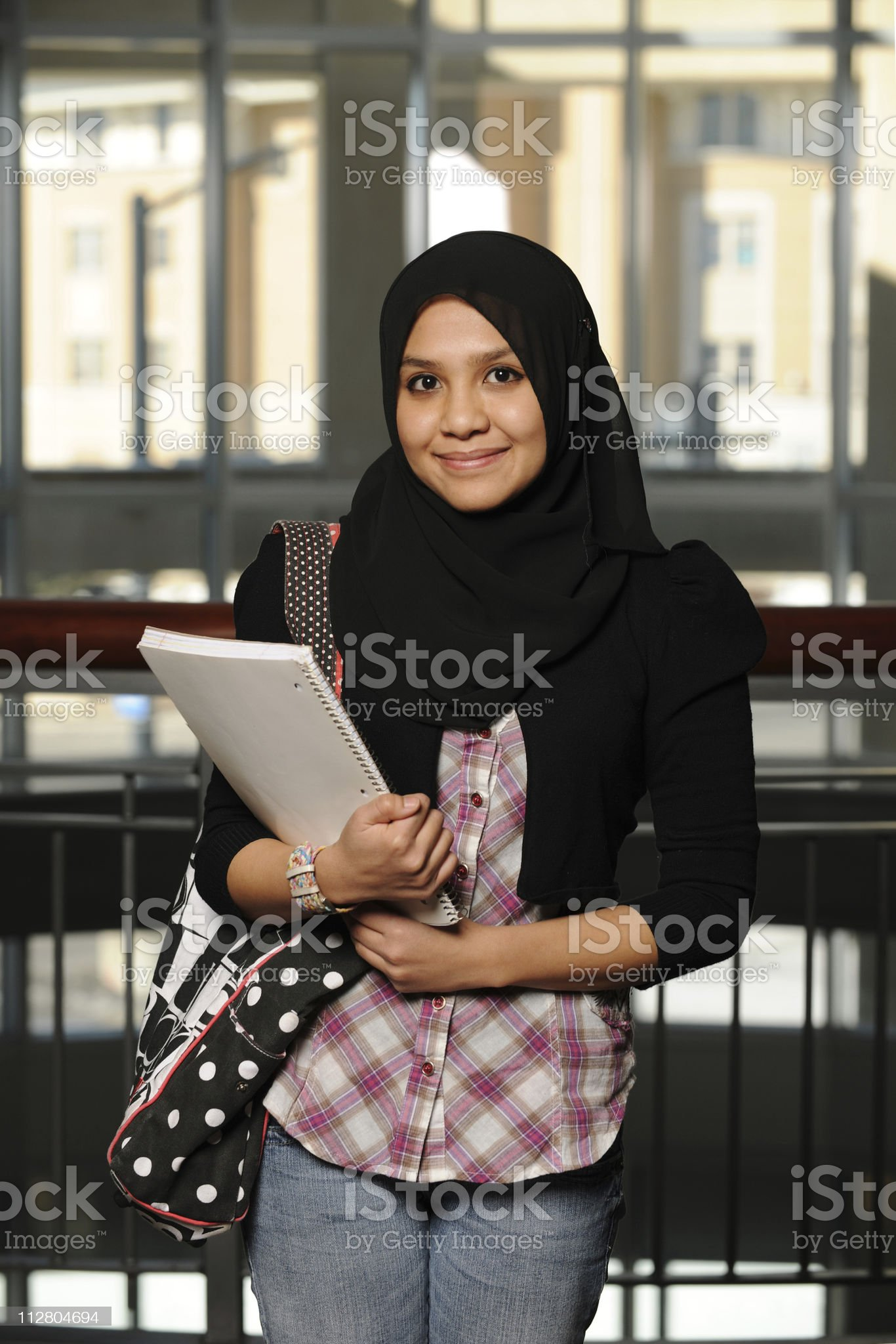 Young Arab Student royalty-free stock photo