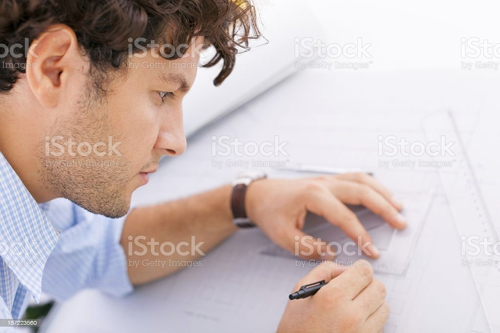 Young Architect royalty-free stock photo