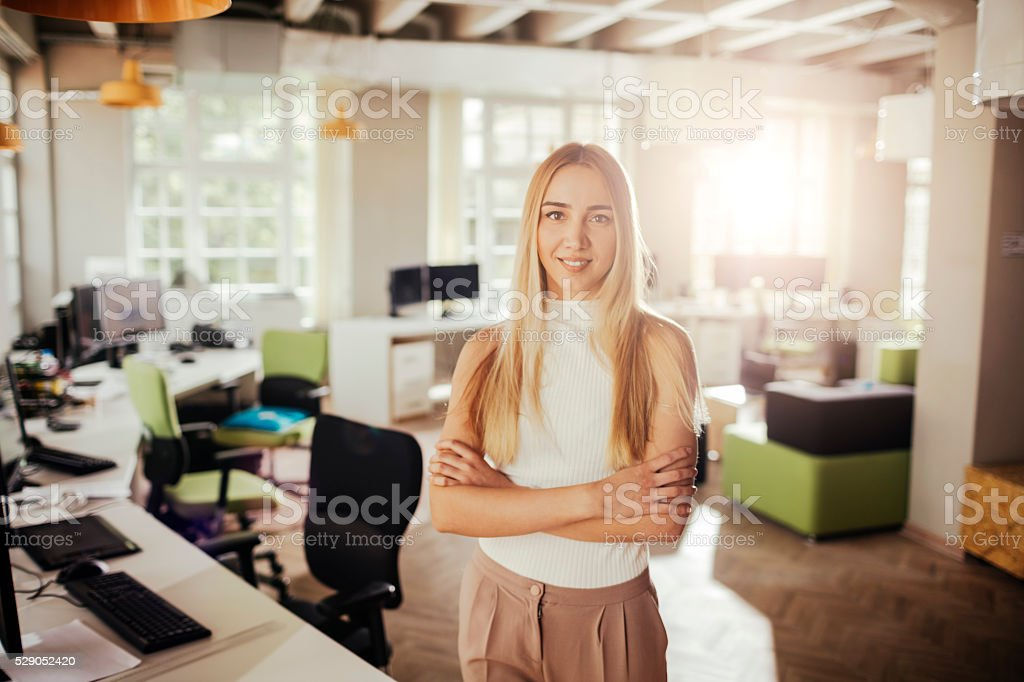 Young architect stock photo