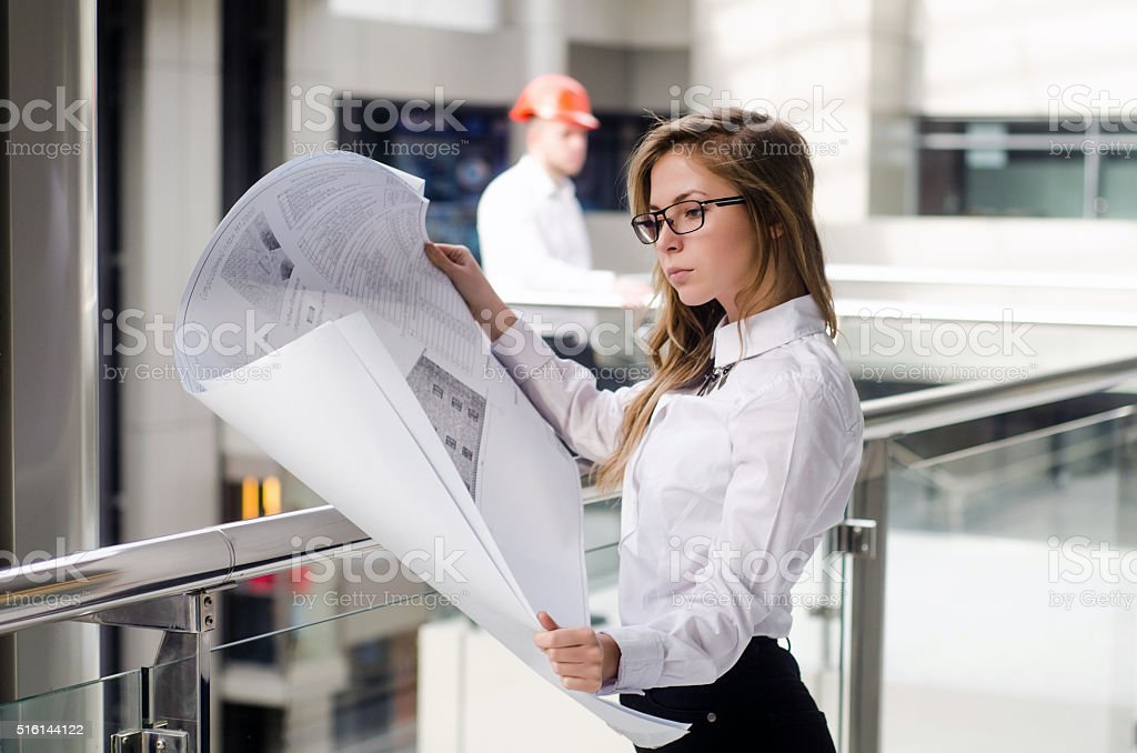 Young Architects stock photo