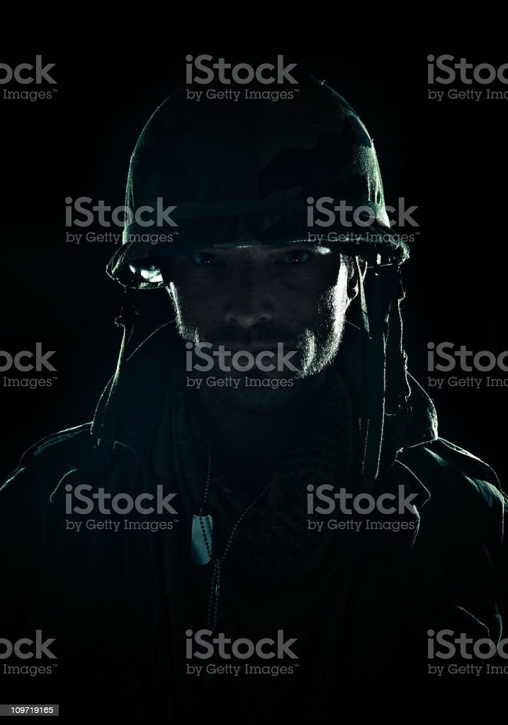 young army officer stock photo