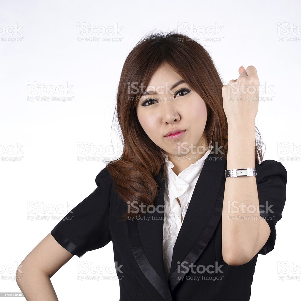 Young asian business royalty-free stock photo