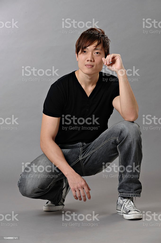 Young Asian Chinese Man royalty-free stock photo