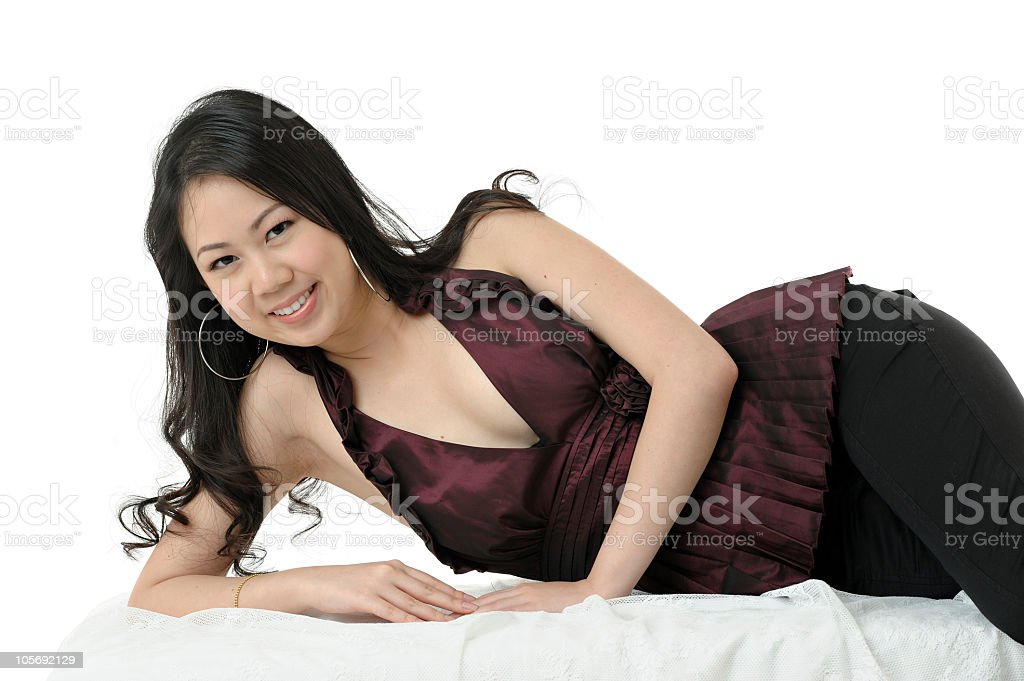 Young Asian Chinese Woman royalty-free stock photo