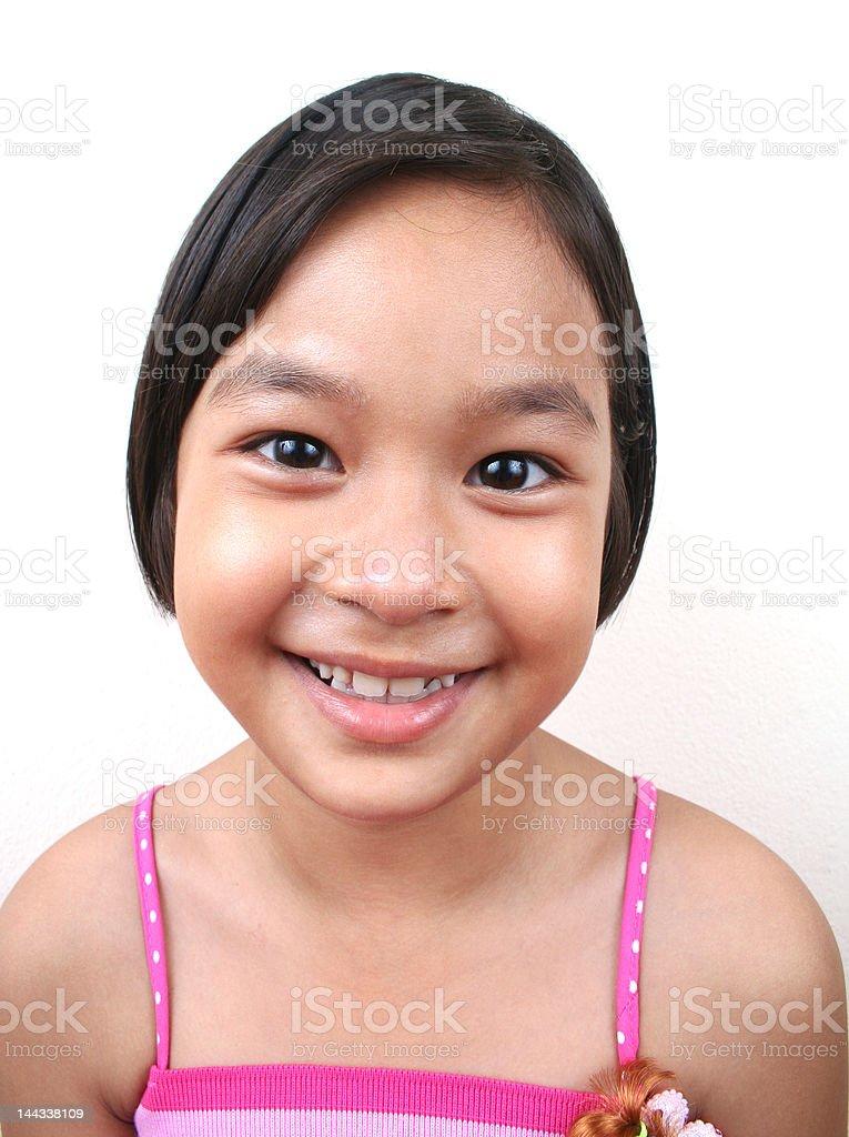 Junge asiatische Mädchen Lizenzfreies stock-foto