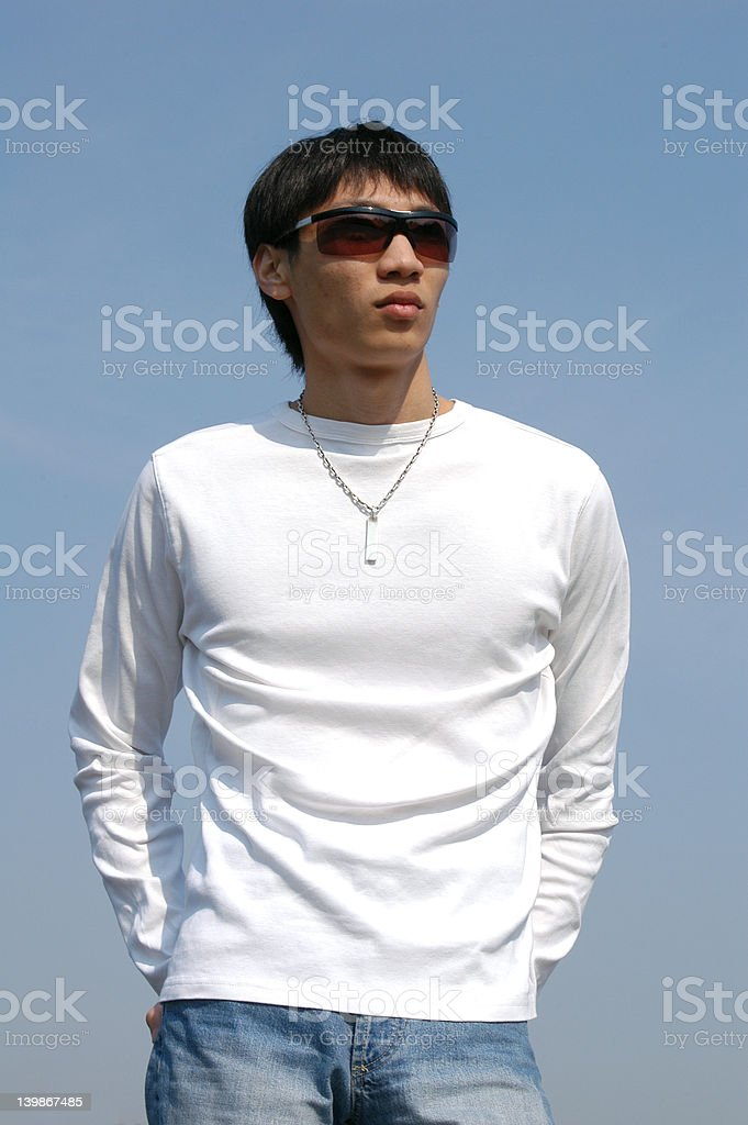 Young Asian Man royalty-free stock photo