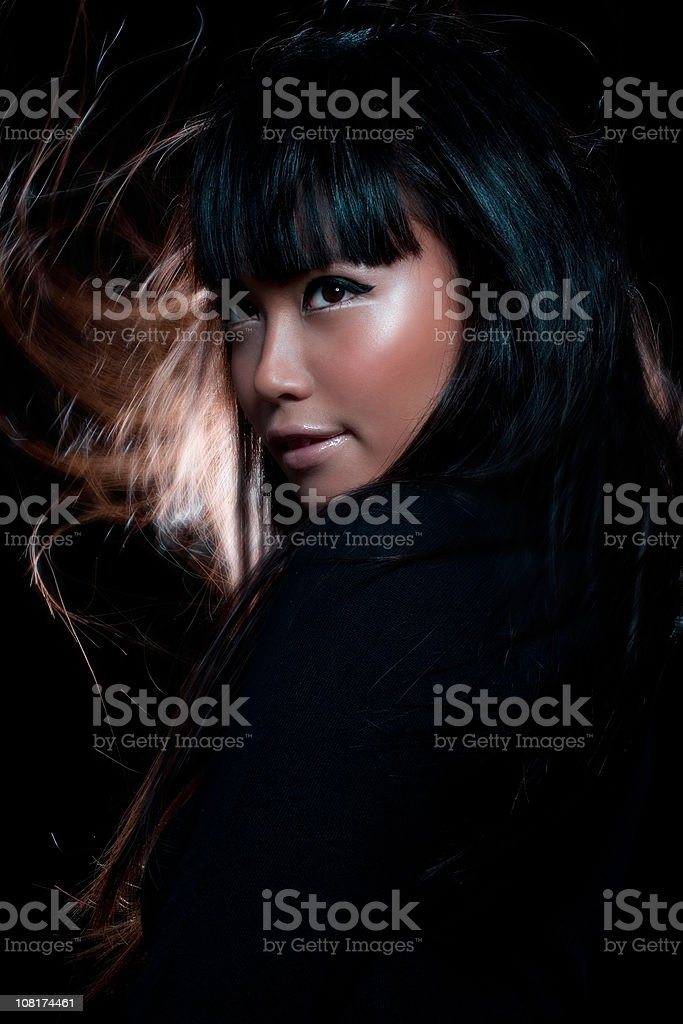 Young Asian Woman royalty-free stock photo