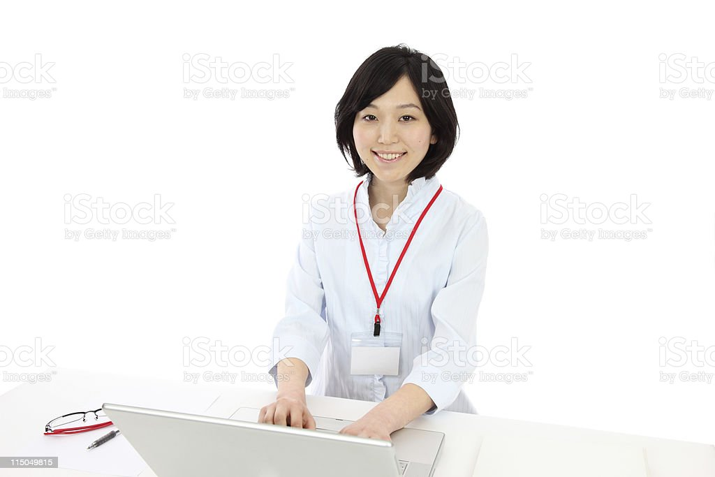 Young Asian women royalty-free stock photo