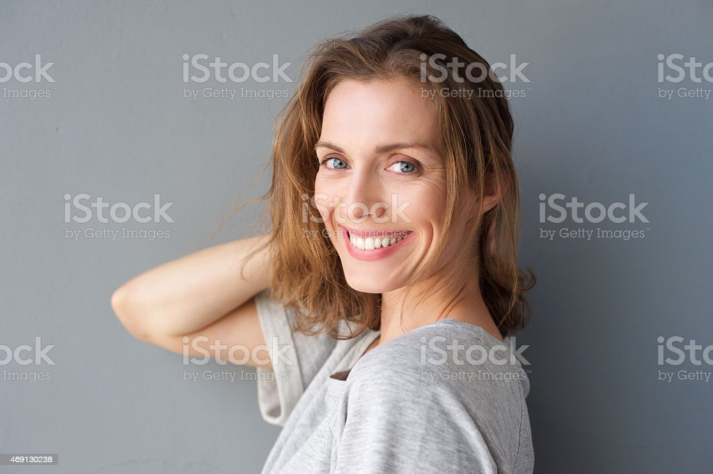 Young at heart stock photo