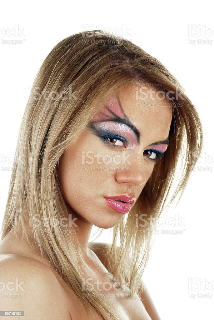 Young attractive female beauty stock photo