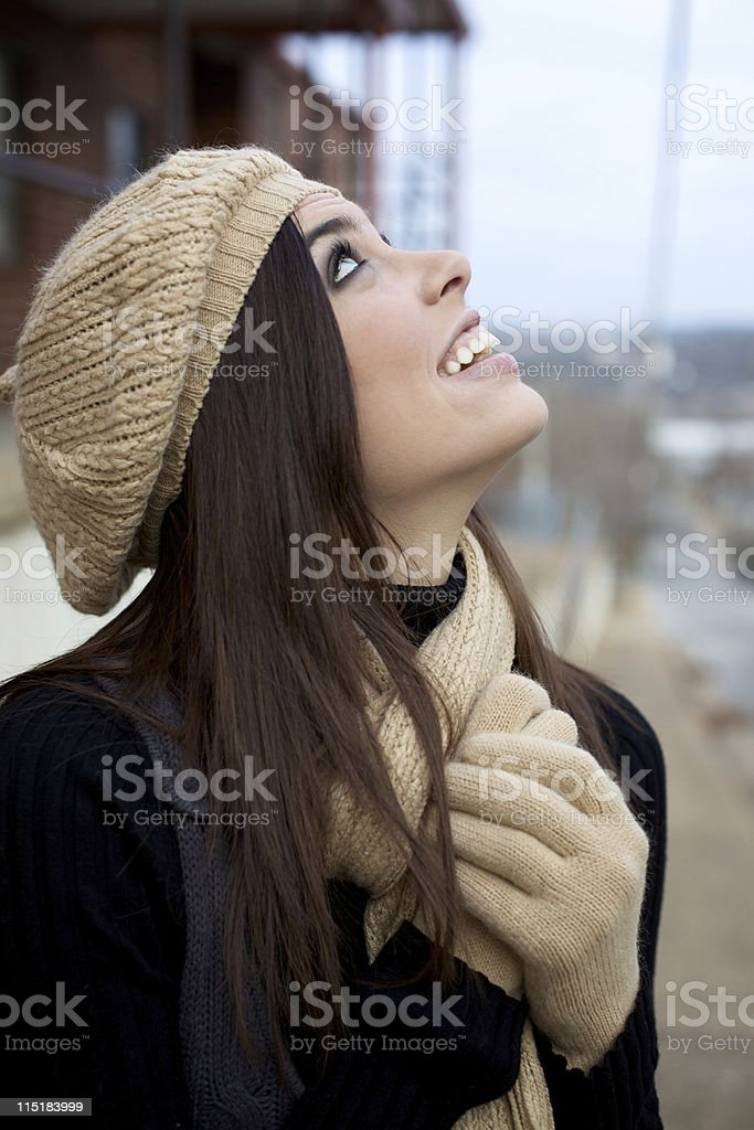young attractive female portraits royalty-free stock photo