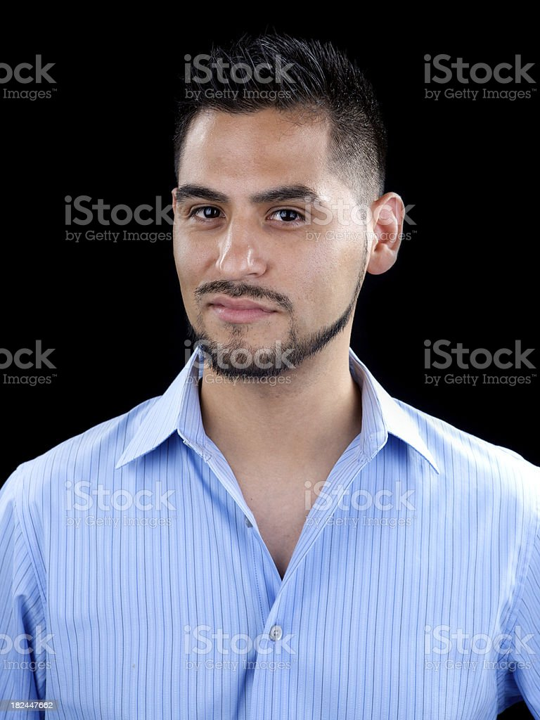 Young attractive Hispanic male royalty-free stock photo