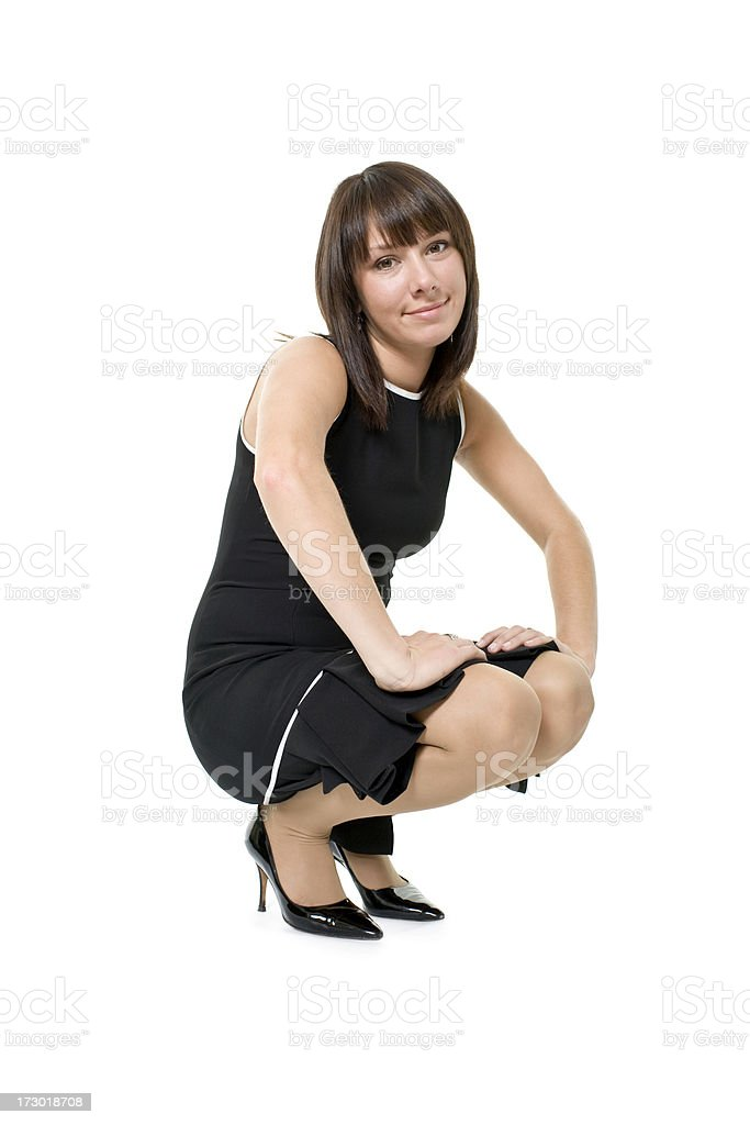 young attractive woman royalty-free stock photo