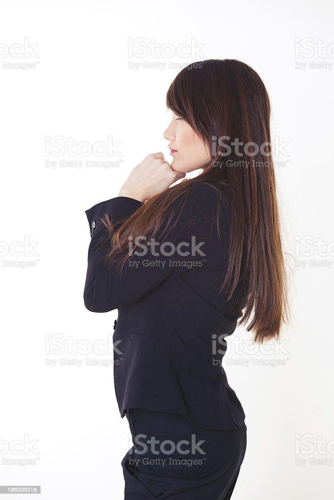 Junge attraktive Frau Lizenzfreies stock-foto
