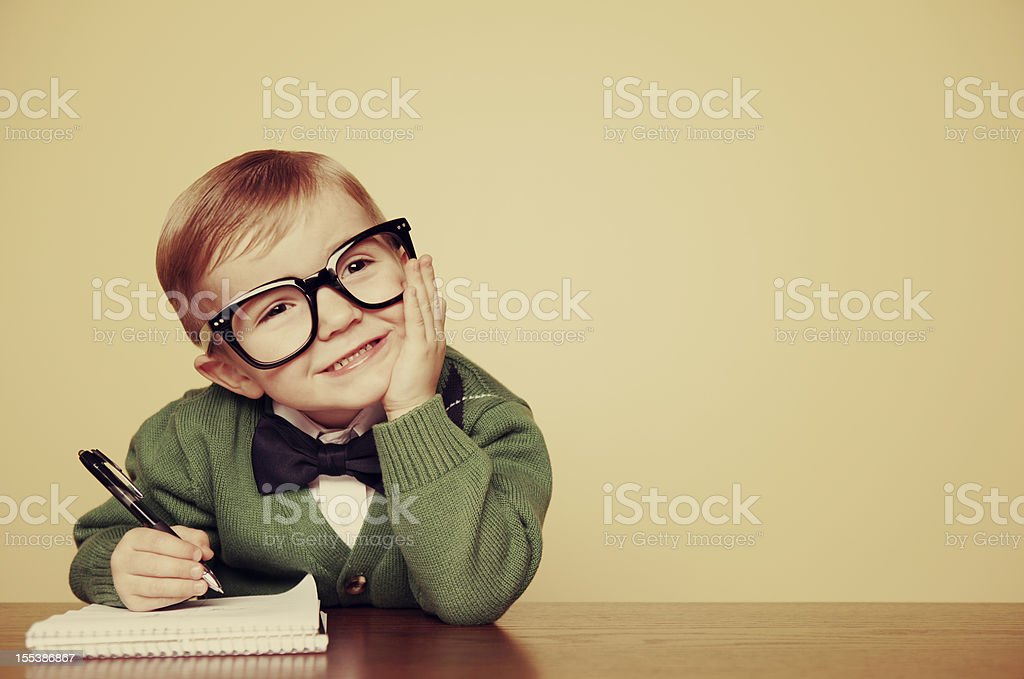 Young Author stock photo