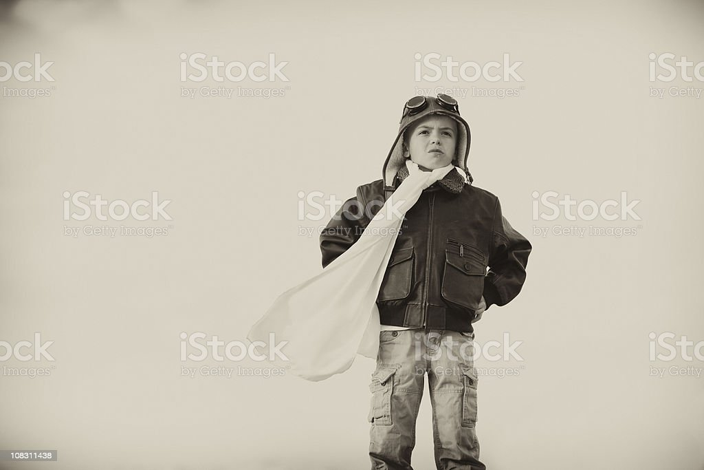 Young Aviator royalty-free stock photo