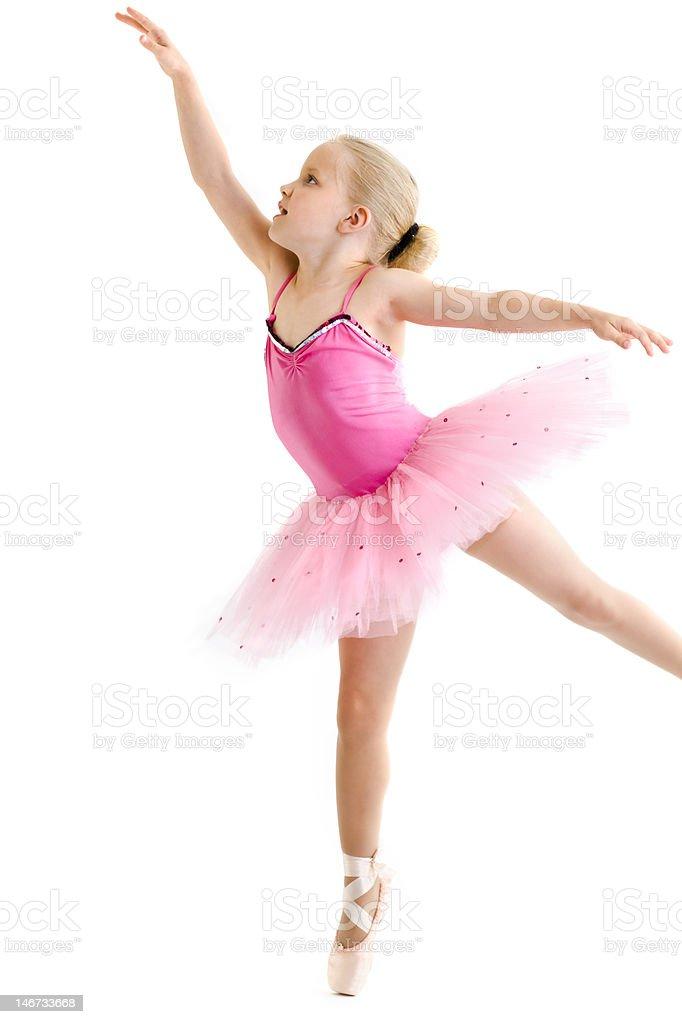 Young ballerina royalty-free stock photo