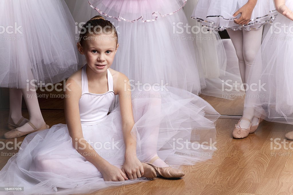 Young Ballerina stock photo