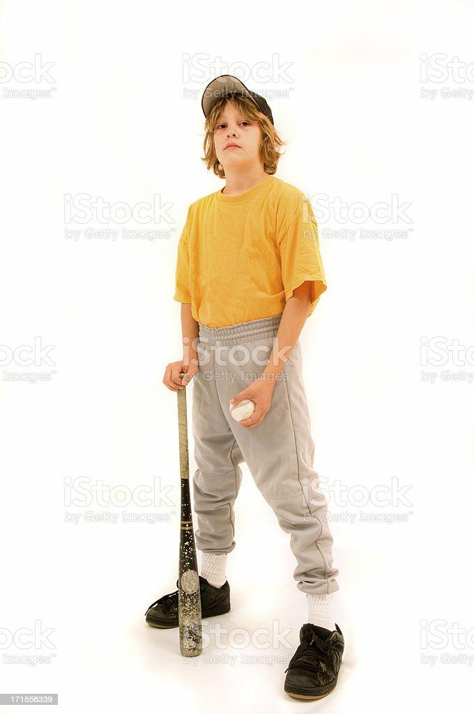 young baseball player stock photo