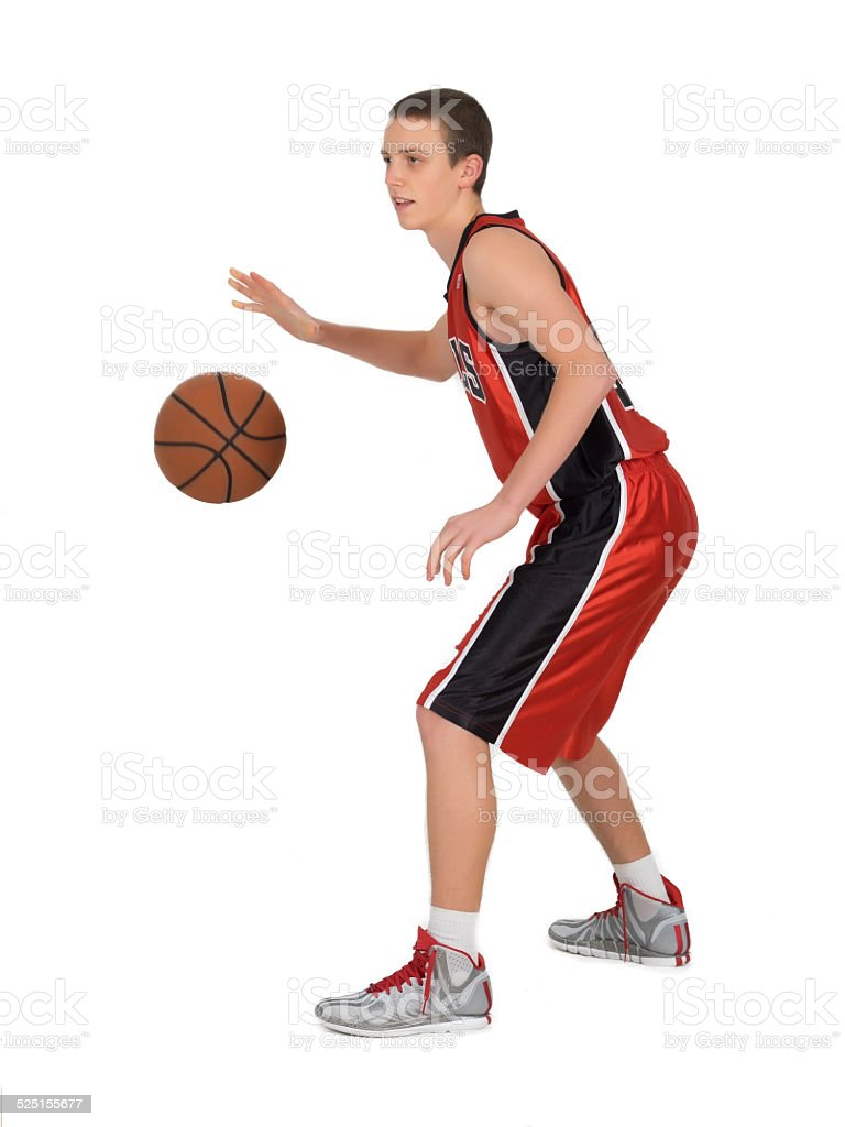 Young Basket player stock photo