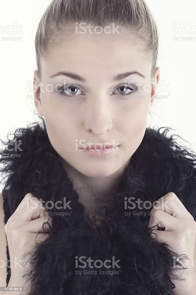 young beautiful girl royalty-free stock photo