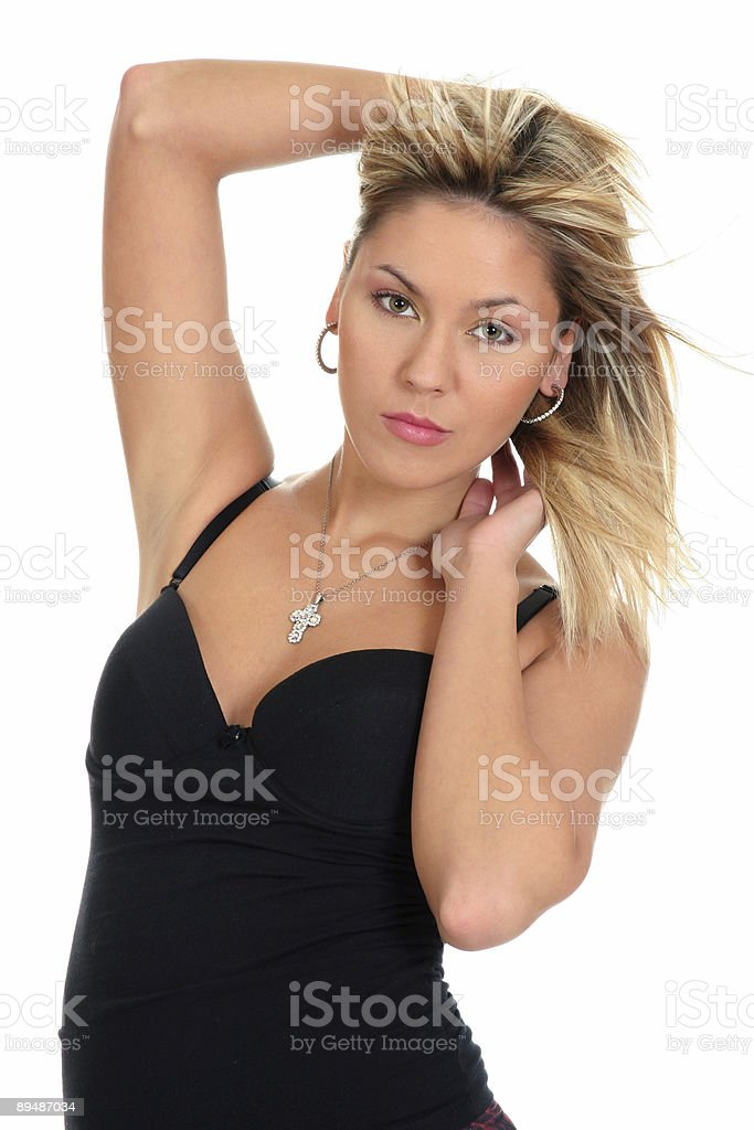 Young beautiful girl posing royalty-free stock photo
