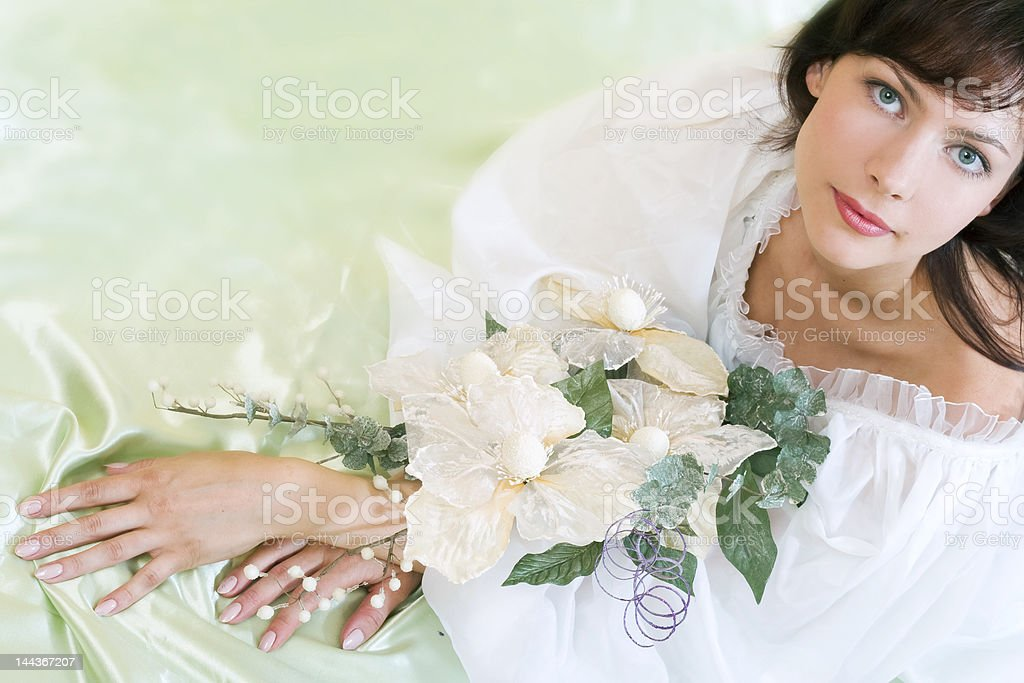 Young beautiful model royalty-free stock photo