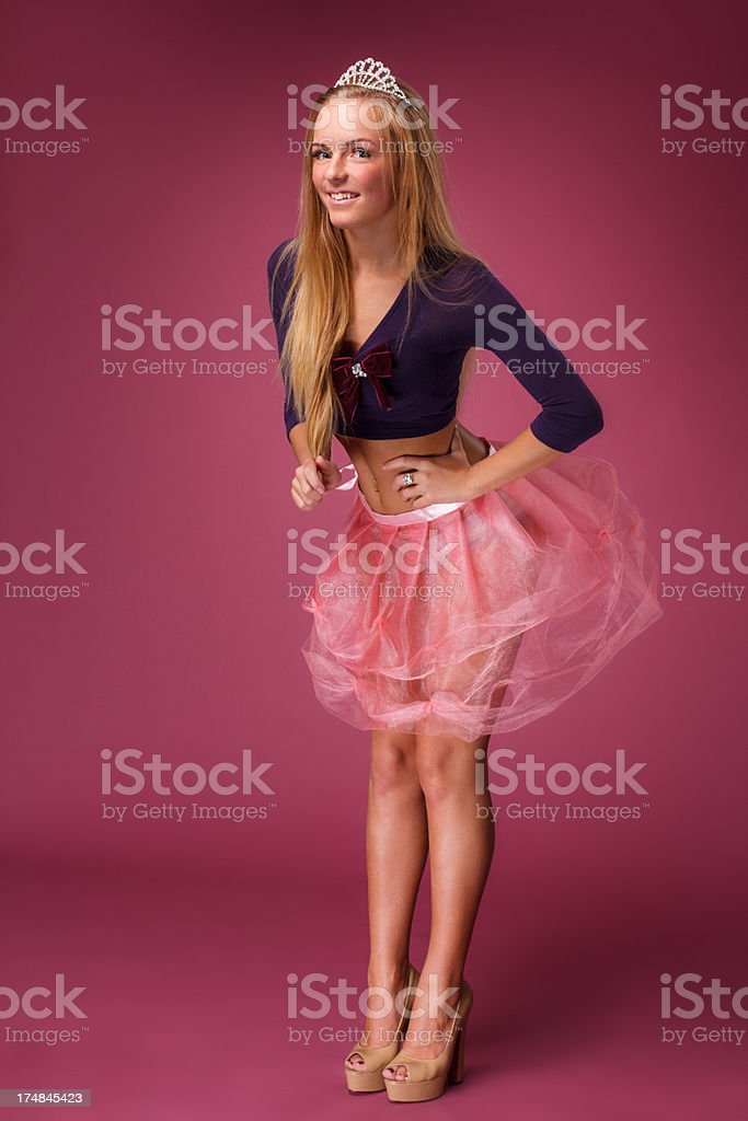 Young beautiful woman. royalty-free stock photo