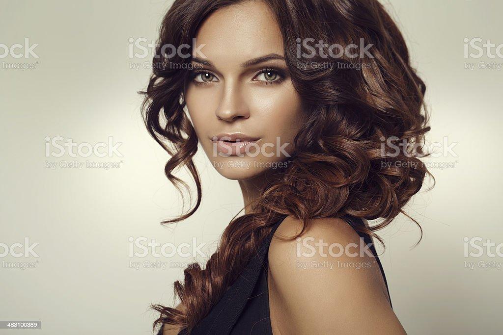 Young beautiful woman royalty-free stock photo
