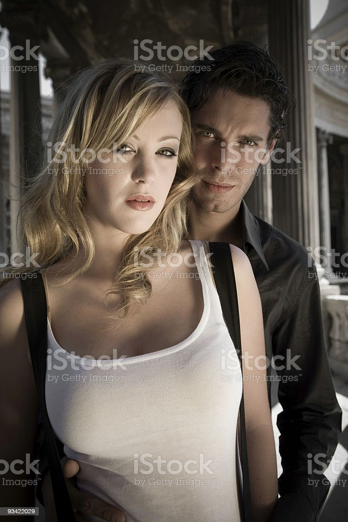 Young Beauty Couple royalty-free stock photo