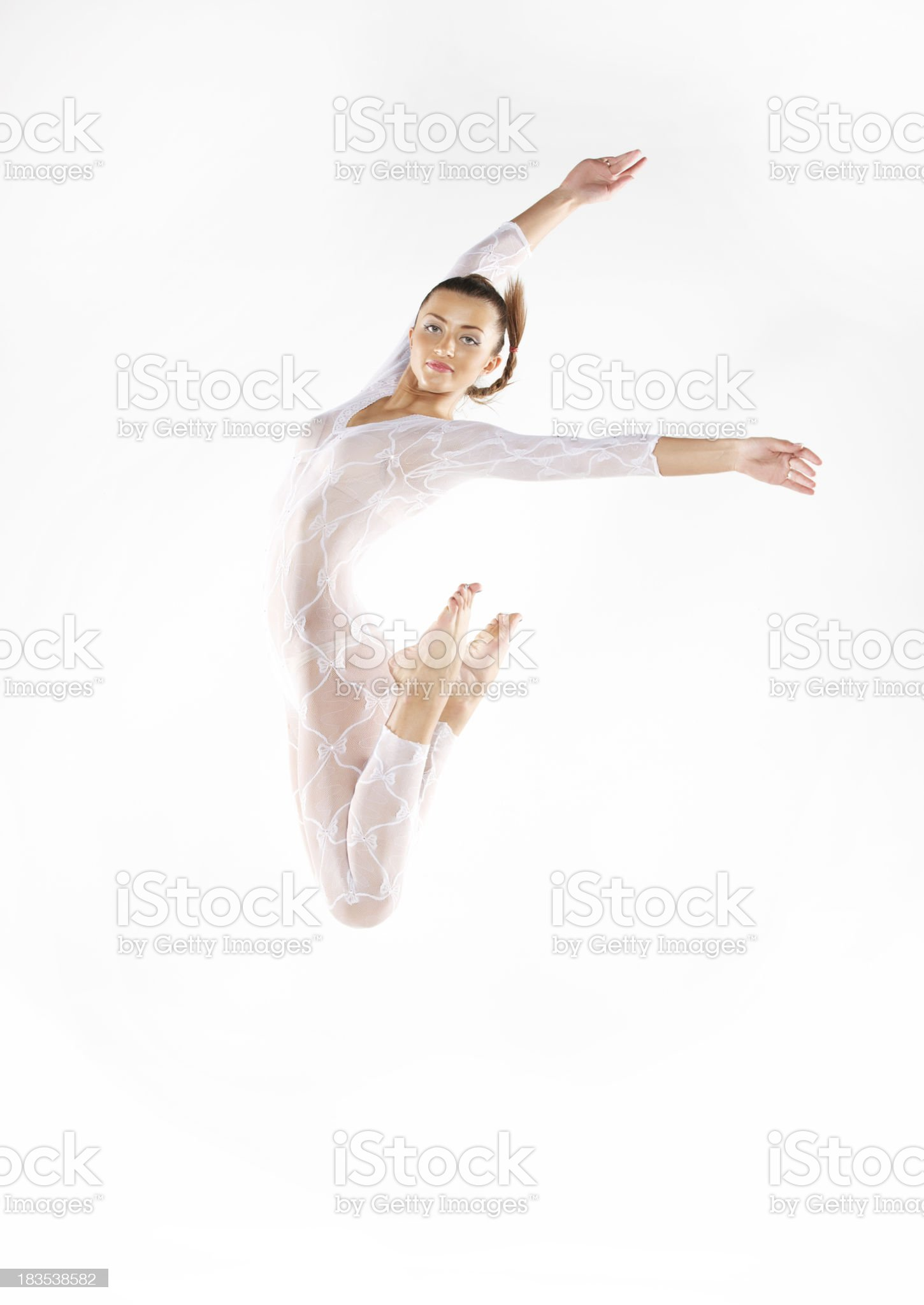 young beauty dancer. royalty-free stock photo
