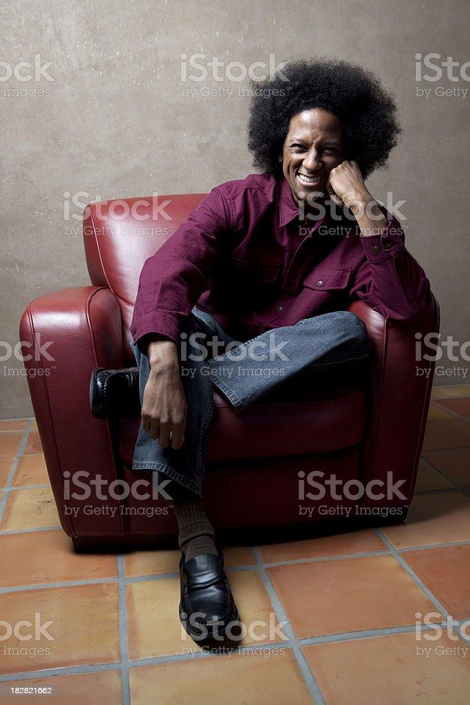 Young Black man stock photo